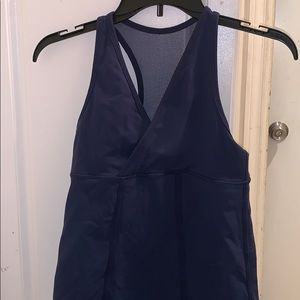 LuluLemon Navy Blue Workout Tank